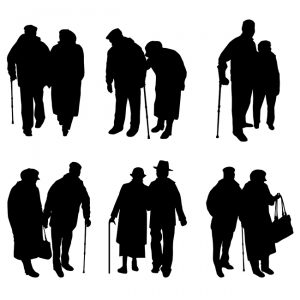elderly-couple-in-black-and-white